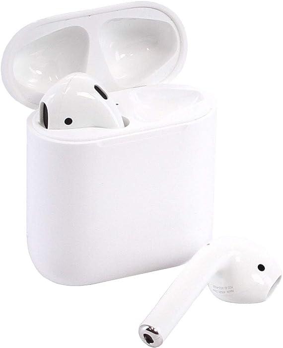Apple Airpods Wireless Bluetooth In-Ear Headset w/ Charging Case MMEF2AM/A(Renewed)