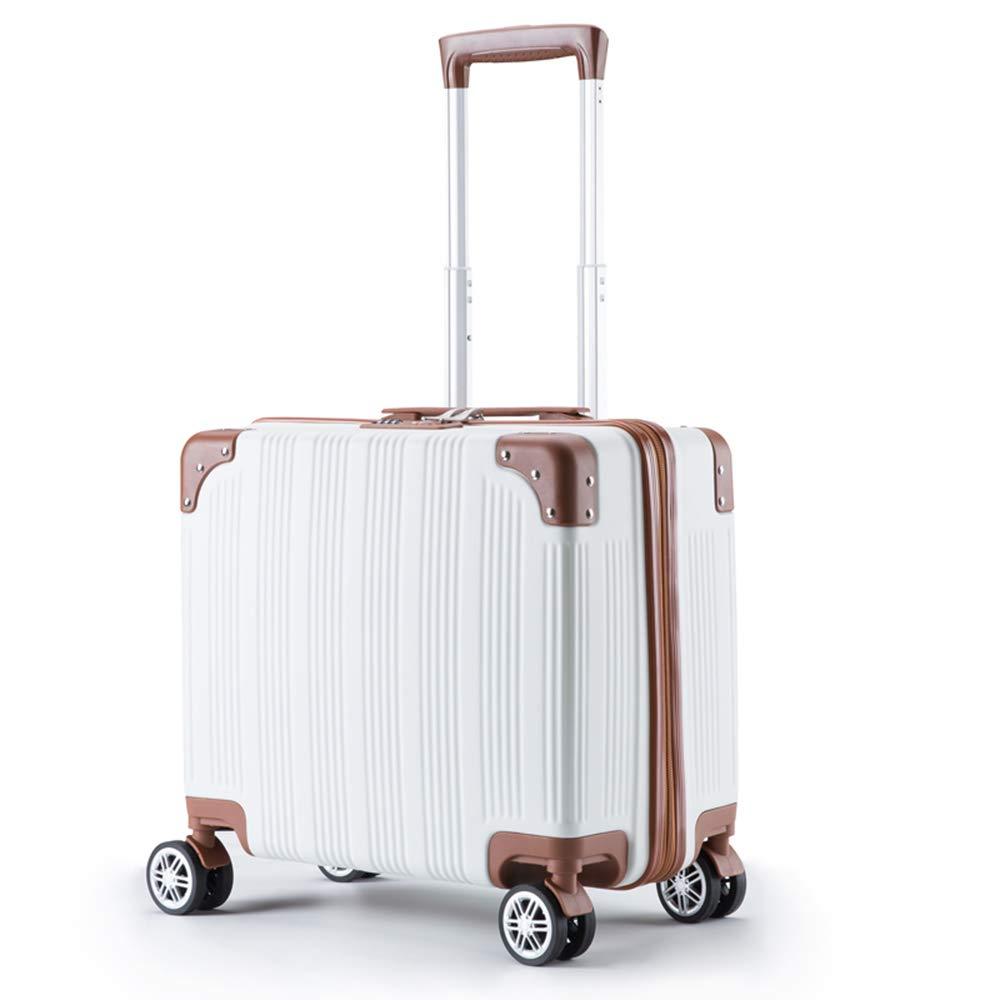 QL-スーツケース 荷物小さな女性の小さな新鮮なトロリーケース搭乗パスワードボックス23.6インチ 旅行用品 (Color : A) B07T4T2CB7 A