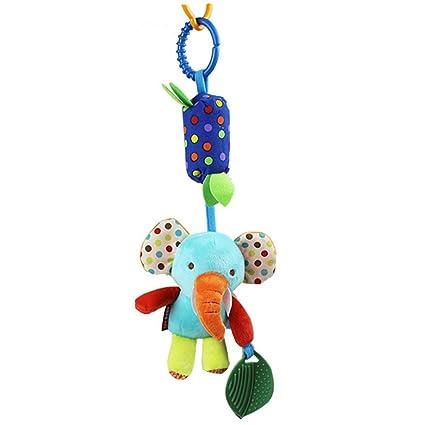 TOYMYTOY Juguetes colgador cochecito recién nacido cuna colgar cuna juguetes colgantes Bunny estrella colgante bebé cuna