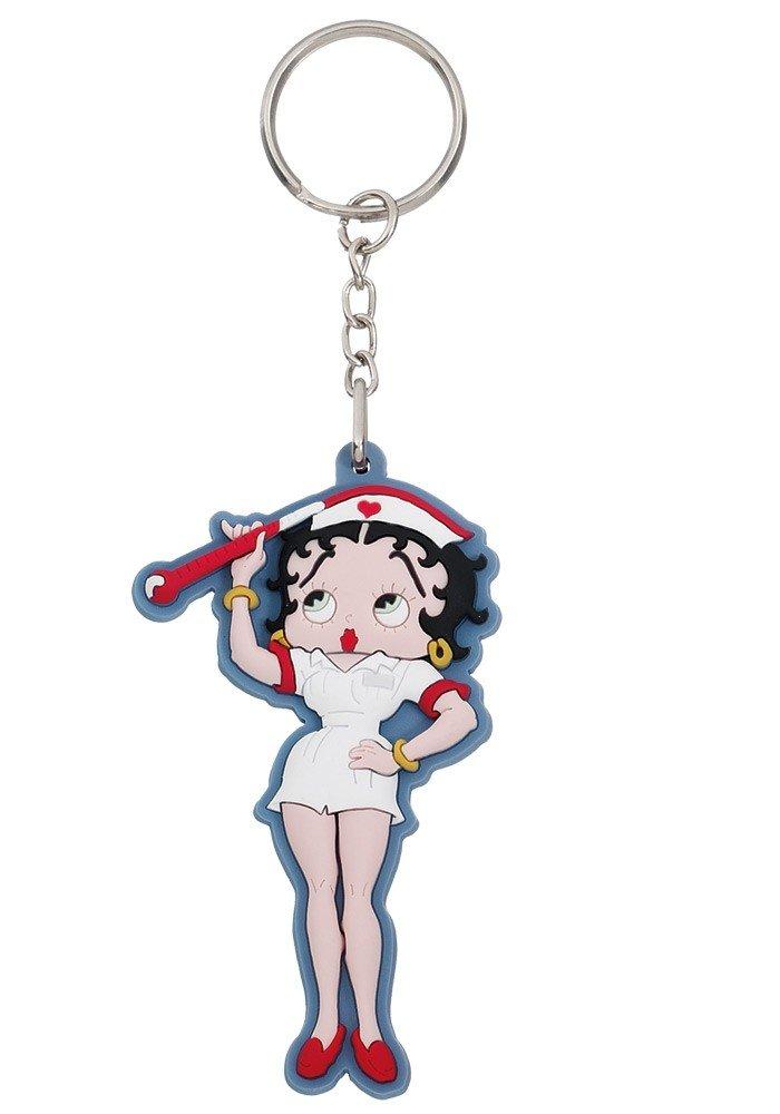 Betty Boop - Pose - Llavero de goma - Tamaño 5 cm): Amazon ...