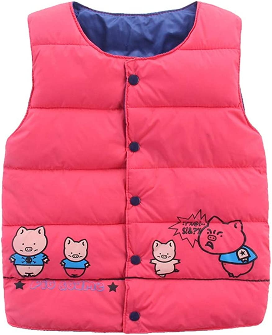 Pollyhb New Baby Winter Warm Waistcoat Kids Baby Girls Boy Jacket Tops Outerwear