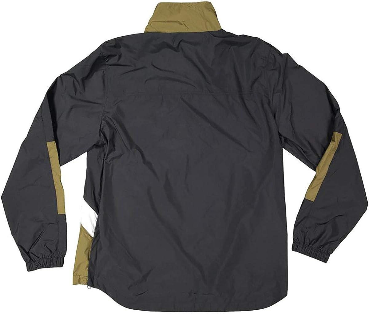 DC Men's ON The Block Anorak Jacket Black