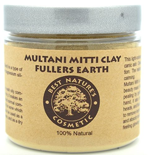 Clay earth facial fullers