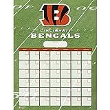 Turner Perfect Timing Cincinnati Bengals Jumbo Dry Erase Sports Calendar (8921004)
