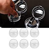 M-Aimee Universal Kitchen Stove Knob Covers Baby Safety Oven Gas Stove Knob Protection Locks for Child Proofing - 6 Pack
