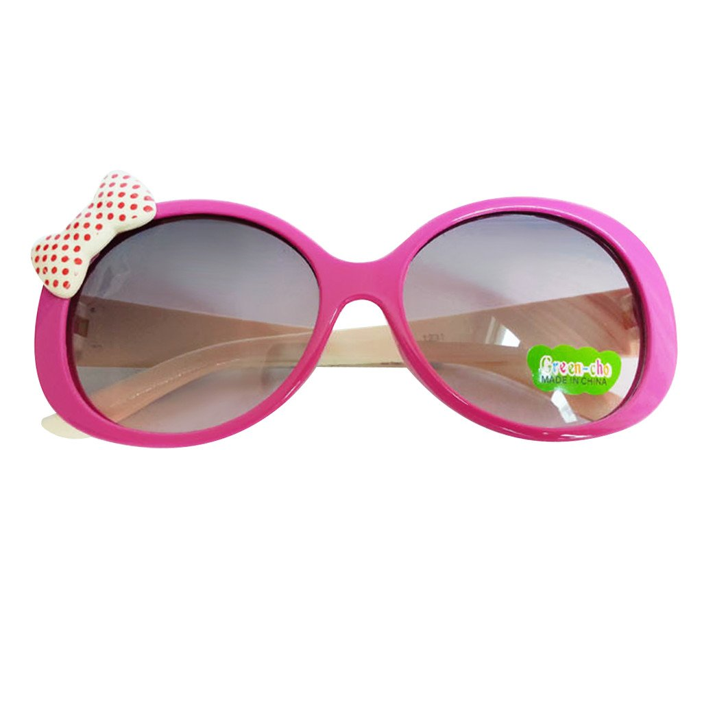 Kids Cute Fashion Bowknot Decoration Fun Sunglasses Gift Rose Frame Generic STK0115018619