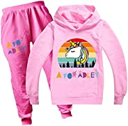JIACHUN A for Adley Hoodie YouTube Sweatshirt, Unisex Kids Pullover Tracksuit Hooded Long Sleeve Outfits