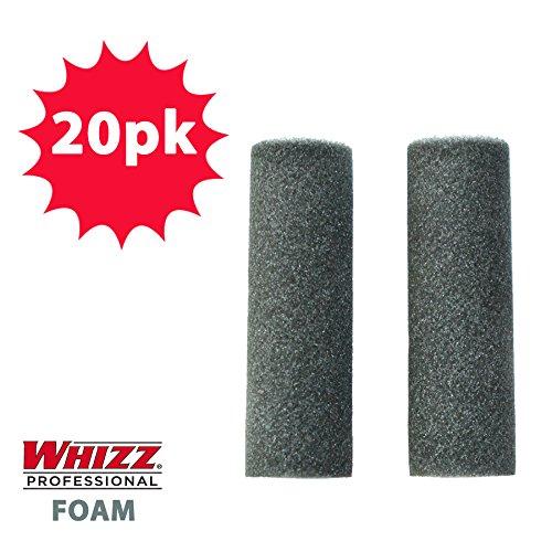 Whizz Black Premium Foam Mini Roller - 20 PACK