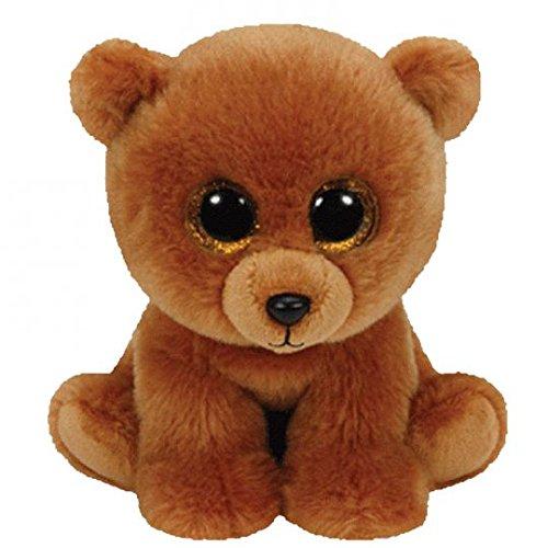 Ty Classic Beanies TY Classic Plush TY Classic Plush - BROWNIE the Brown Bear (9.5 inch)- 25cm Medium Buddy Size 9'' …