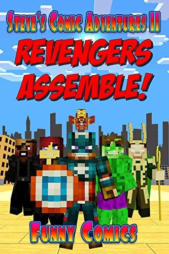 Revengers Assemble Steves Comic Adventures ebook product image