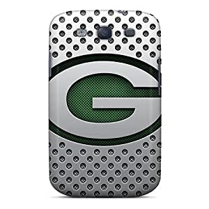 Hot EcQTy6635CDNiX Green Bay Packers Tpu Case Cover Compatible With Galaxy S3