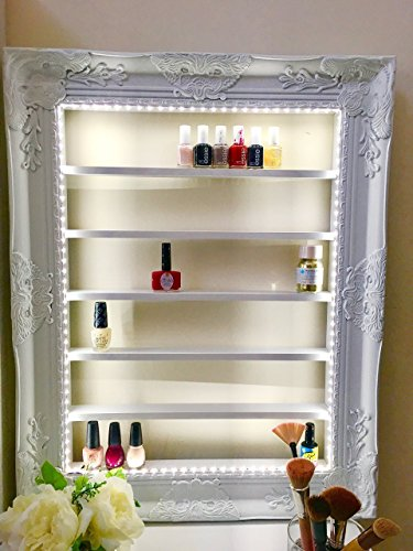Luxe Make up and Nail Polish Organizer Rack Display by Dainty Luxe