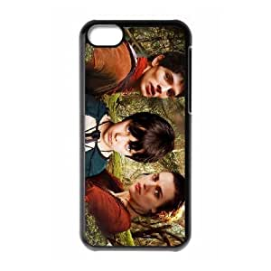 iPhone 5c Cell Phone Case Black Merlin Phone Case Cover Protective Unique CZOIEQWMXN0397