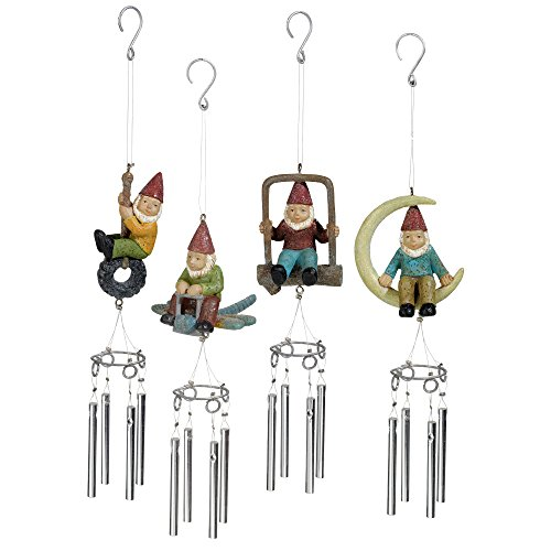 Garden Fairy Small Wind Chimes - 9