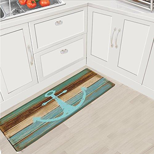 Fashion Dream Extra Long Flannel Bathroom Rug Bath Mats