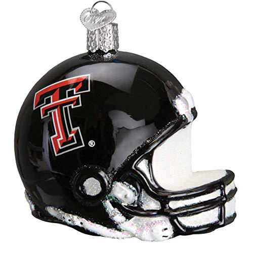 Old World Christmas 63217 Ornament Texas Tech Helmet