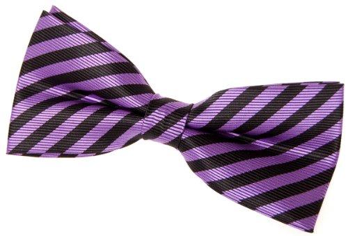 - Retreez Striped Woven Pre-tied Bow Tie (4.5