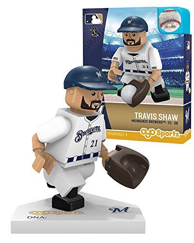- Travis Shaw Milwaukee Brewers OYO Sports Toys G5 Series Minifigure