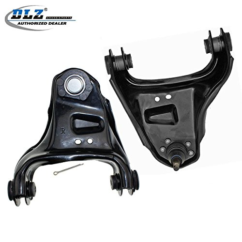 DLZ 2 Pcs Front Upper Control Arm Ball Joint Assembly Compatible with 1984-1994 Chevrolet S10 Blazer 4WD 1984-2004 Chevrolet S10 Pickup 4WD GMC Sonoma 2WD 1991-2004 GMC Jimmy GMC Sonoma 4WD K620172