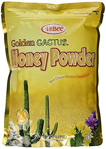 HiBee-Golden Cactus Honey Powder 16oz (1 ()