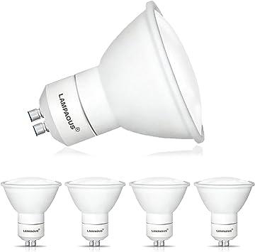 Spotlight Lamp 240V 12 Pack LED GU10 Bulbs Warm Cool White Day Light 3W 4W 5W A