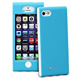 iPhone SE Case, GreatShield FUSION Series Shock-Proof SLIM Case for Apple iPhone SE / 5S / 5 (Blue)