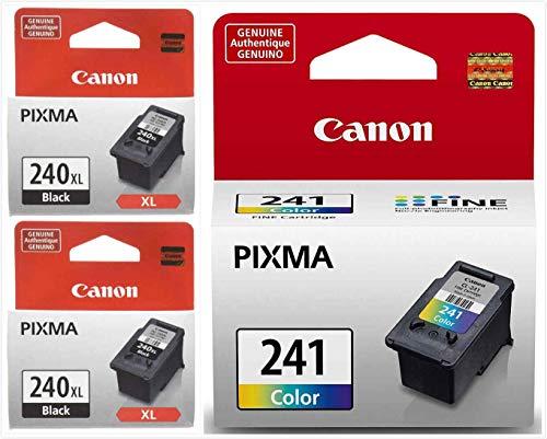Canon PG240XL/CL241Ink Cartridges  Combo Pack Black