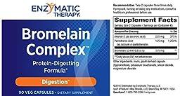 Enzymatic Therapy Bromelain PlusTM 90 Veg Caps ( Multi-Pack)