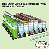 Display Technologies, LLC Flexi-Shelf Flat Shelf Organizer