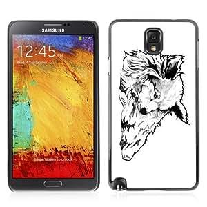 YOYOSHOP [Cool Tattoo Illustration] Samsung Galaxy Note 3 Case Kimberly Kurzendoerfer