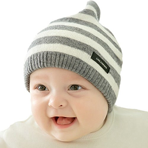 Soft Cute Lovely Infant Cap for Unisex Baby Knit Hat Infant Cotton Beanies
