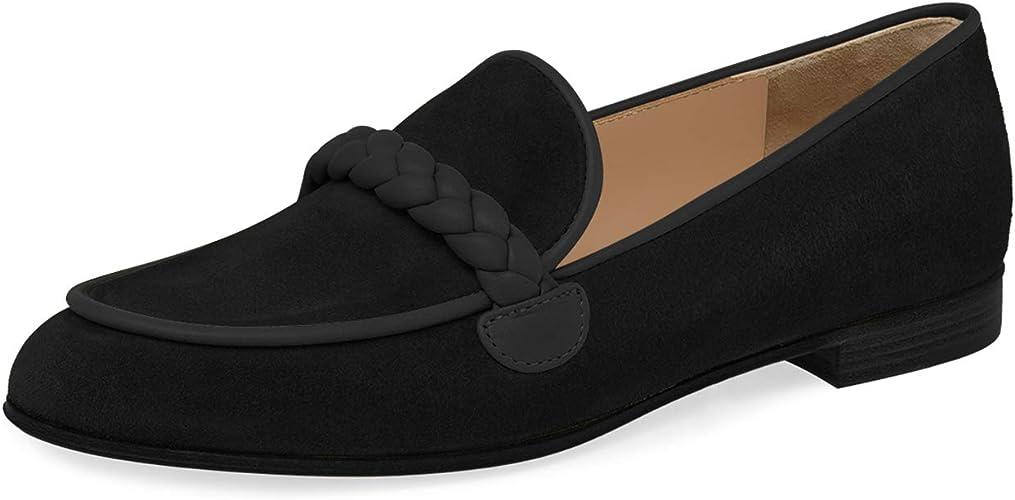 JiaBinji Women Flat Mary Jane Mules No Heel Handmade Backless Summer Pointed Toe Slip On Sandals Rhinestones Bridal Shoes Dress Shoes