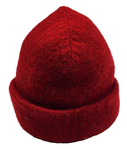 Dachstein Woolwear Alpine Wool Cap Red One Size