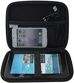 Eva sintética carcasa rígida funda de transporte bolsa protectora Para Garmin 7 pulgadas GPS Navigation Tablet para disco duro: Amazon.es: Electrónica