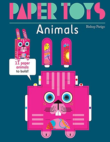 Animals: 11 Paper Animals to Build (Paper Toys)