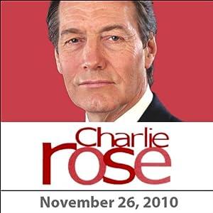 Charlie Rose: Mohammad-Javad Larijani and Quincy Jones, November 26, 2010 Radio/TV Program
