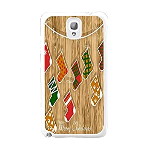 Hard Slim Rubber Hybrid Customized Designed Back Case Cover for Samsung Galaxy Note 3 N9005 (wood grain BY811)