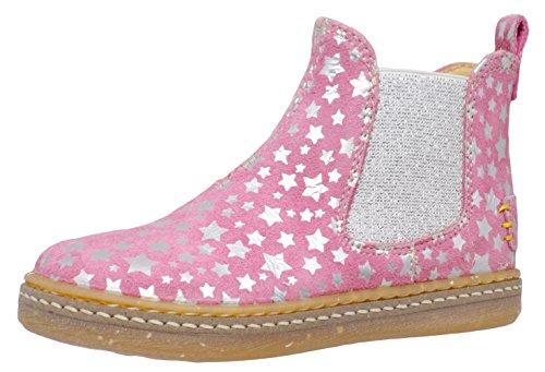 Ocra Mädchen Boots Stiefeletten Pink (11829 Stars Roz+Arg)