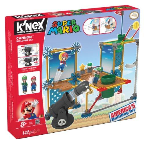 K'NEX Nintendo Super Mario 3D Land Cannon Building Set (Super Mario 3d Land Items)