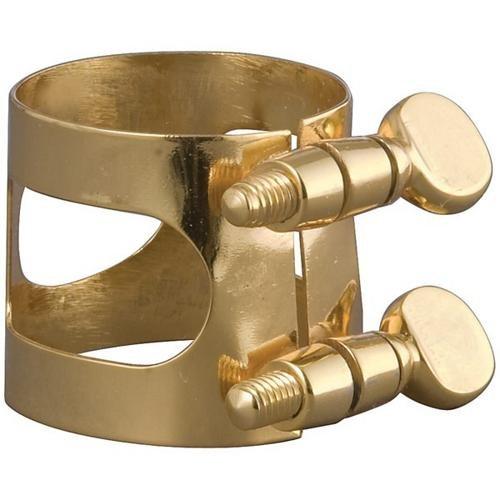 Belmonte Baritone Sax Ligature Gold