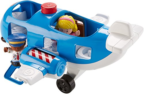 51QL3XDpKqL - Fisher-Price Little People Travel Together Airplane Vehicle