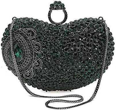 ハンドバッグ - ハンドバッグ高級レディースラグジュアリーダイヤモンドリング、完全なラインストーンのイブニングバッグ、ブライダルドレスバッグ、魅力的な小さな財布 よくできた