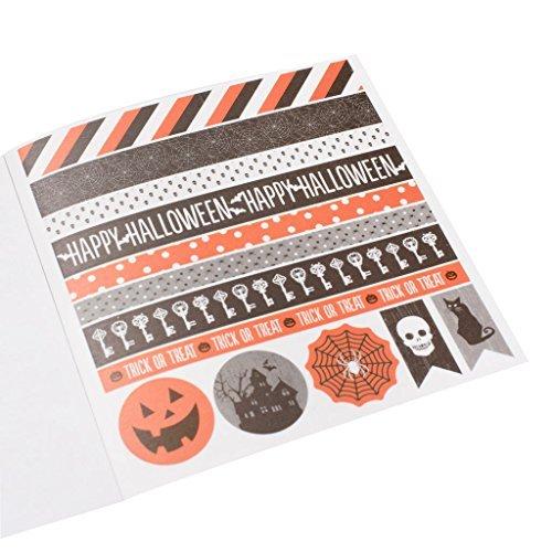 Recollections Halloween Washi Stickers, Orange & Black -