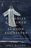 Paradise Regained, John Milton, 0812983718