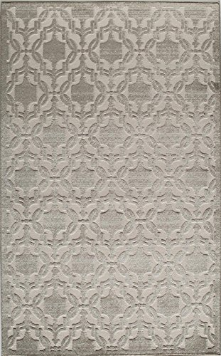 Rugs America RV500A Area Rug, 8 x 10 , Cream