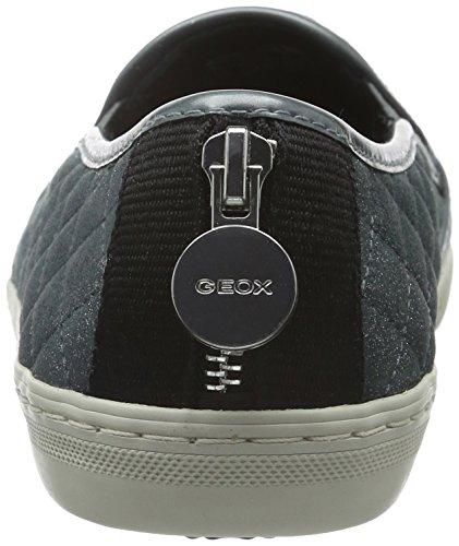 Geox Women's D New Club C Low-Top Sneakers Blau (Lakec4069) iQmpW6L4