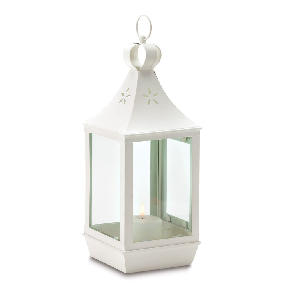 Amazon.com: 10 LRG CANDLE LANTERN CANDLEHOLDERS WEDDING CENTERPIECES ...