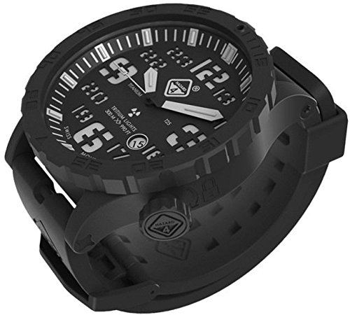 HAZARD 4 HWD-TIPV-KW-GGYG Heavy Water Diver(TM) Nightwatch: Titanium Tritium Dive-Watch - B