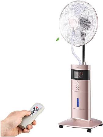 Stand fan Ventilador De Hielo De Enfriamiento por Pulverización ...