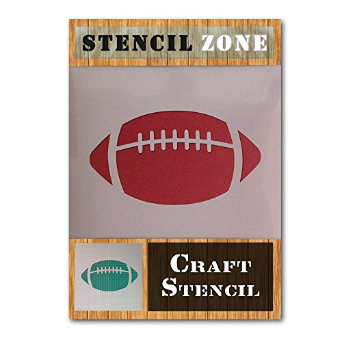 American Football NFL Sport Mylar Airbrush Painting Wall Art Crafts Stencil (A1 Size Stencil - XLarge)